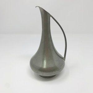 Vintage Sigg Zinn Frauenfeld Pewter Vase Pitcher